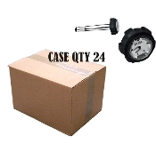 "Utility 228 (Quarter Turn) Cap/Gauge 12"" Vented-CASE QTY (24)"